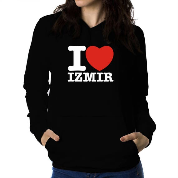 Teeburon Keep Calm and Love Izmir Hoodie