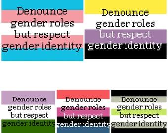 Respect Gender Identity