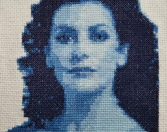 Kit *** Counselor Deanna Troi cross stitch kit