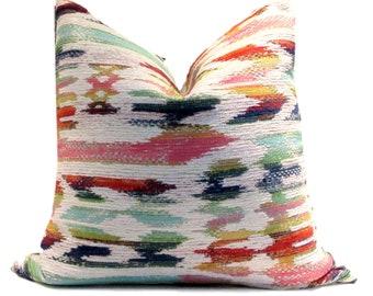 Multi Coloured Ikat, Kilim,  Upholstery Weight Fabric