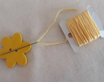 Flower Needle Minder, Cross Stitch Needle Minder, Embroidery Needle Holder, Magnetic Needle Minder, Needlepoint Needle Minder, Needle Keeper
