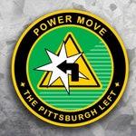"Pittsburgh Merit Badge Sticker - Pittsburgh Left - 2"" Round Vinyl Weatherproof- Funny Yinzer Souvenir - Pittsburgh Laptop Sticker Decal"
