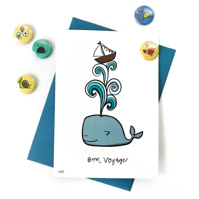 printable goodbye card cute whale goodbye good luck card