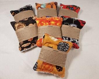 Halloween print UnSponge - 2 pack - zero waste reusable sponges, 100% cotton, eco friendly, zero waste, plastic free