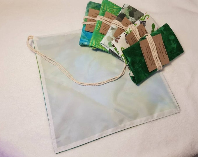 Reusable Wrap around Sandwich wraps, Lunch wrap, Eco-friendly, Sustainable living