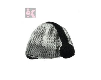 Headphone, headset beanie hat wool beanie hat - Love Music, love these