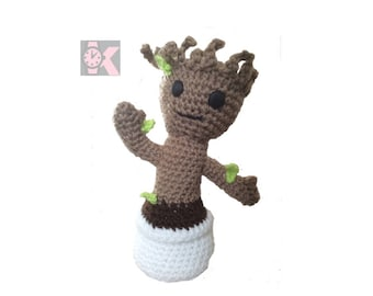 Adjustable Guardians of the Galaxy - Baby Groot, Wool figure: Infinity War - Office or Home