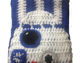 Star Wars: The Last Jedi - R2D2 child to adult reversible wool scarf