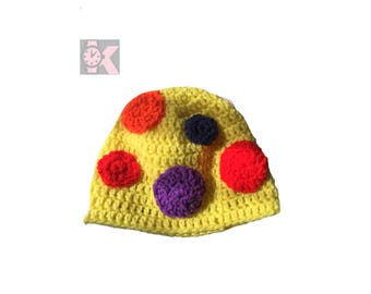 Mr Tumble - His Magical Spotty Beanie Hat: Spotty wool knitted hat CBBC