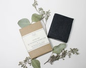 Activated Charcoal Chamomile Organic Goat Milk Bar Soap, All Natural Luxury Artisan Soap, Facial Soap, Creamy Chamomile Essential Oil Soap
