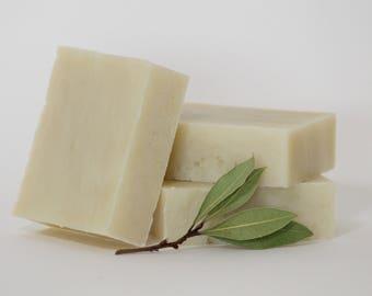 PURE Hypoallergenic Soap, Natural Baby Soap, Unscented Handmade Soap, No Fragrance  Soap, Cassia Organics Vegan Soap, Conditioning Shea Soap