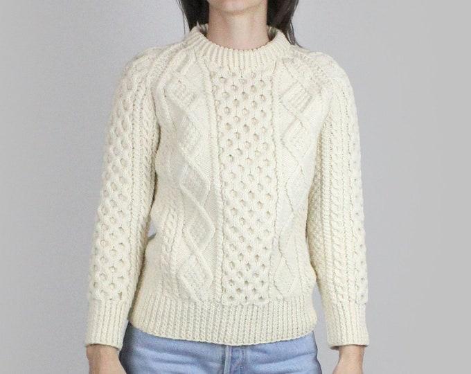 90s Cream Cashmere Sweater