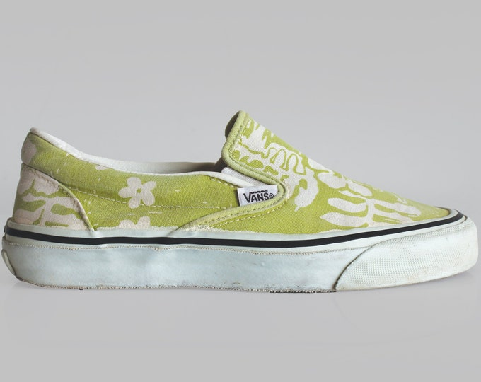 80s Slips On Vans