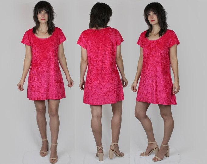 90s Velvet Dress