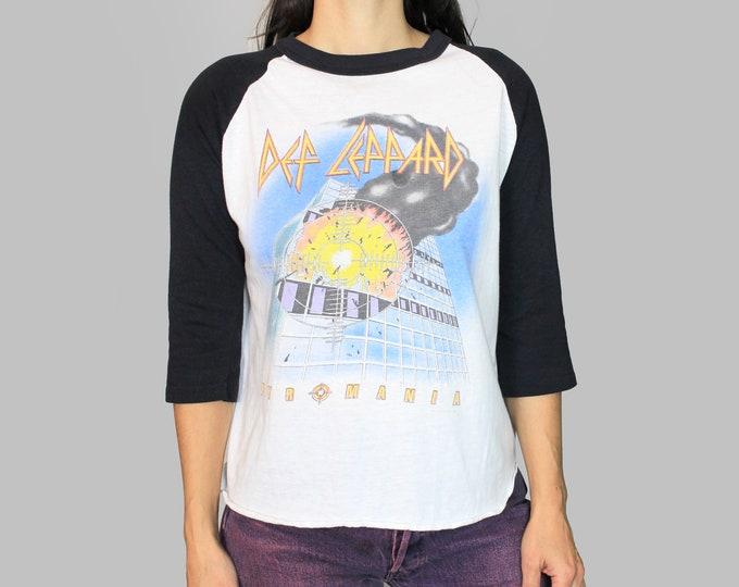 Def Leppard Shirt Vintage