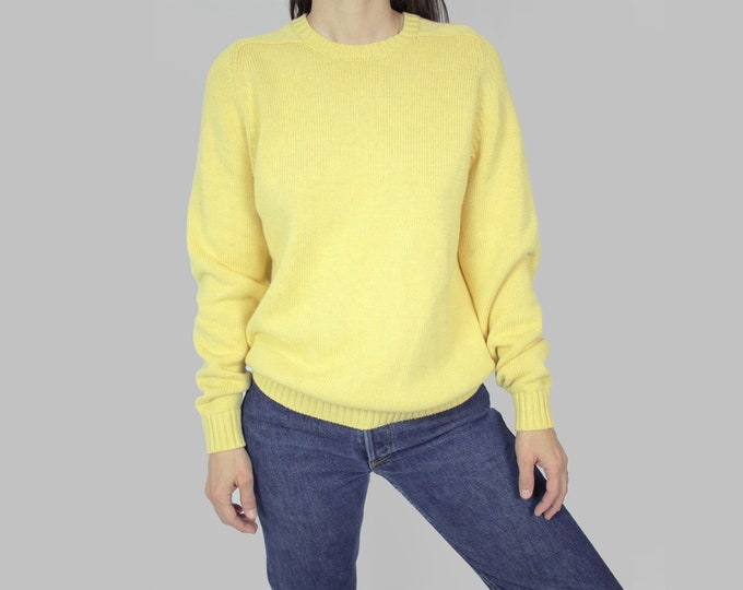 Light Yellow Cotton Sweater