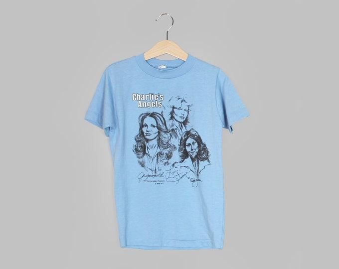 70s Charlie's Angels T Shirt Vintage