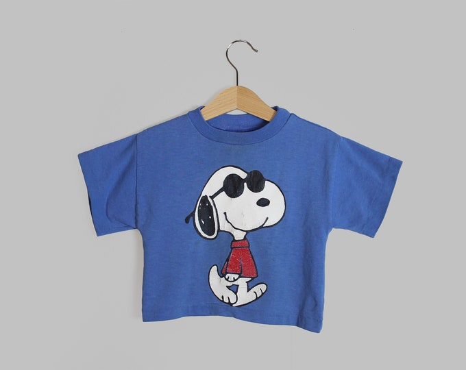Snoopy Shirt Vintage 2T