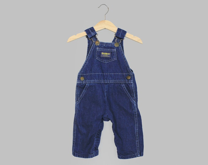 Oshkosh Overalls 12 Months Denim
