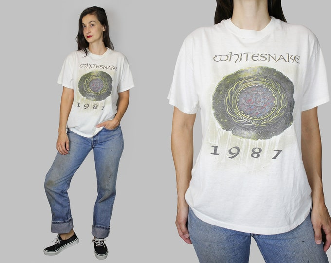 Whitesnake Band Concert Tour T Shirt