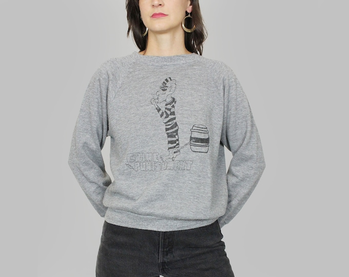 Thin Raglan Sweatshirt