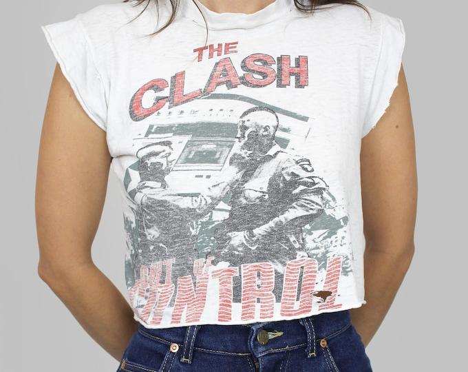 The Clash Band Concert 1984 Tour T Shirt