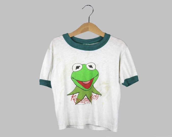 Kermit The Frog T Shirt Vintage