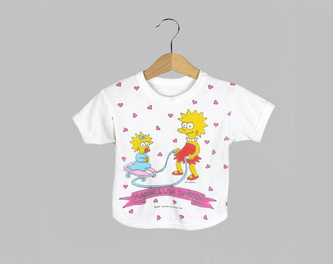 Lisa Simpson Shirt Toddler Vintage