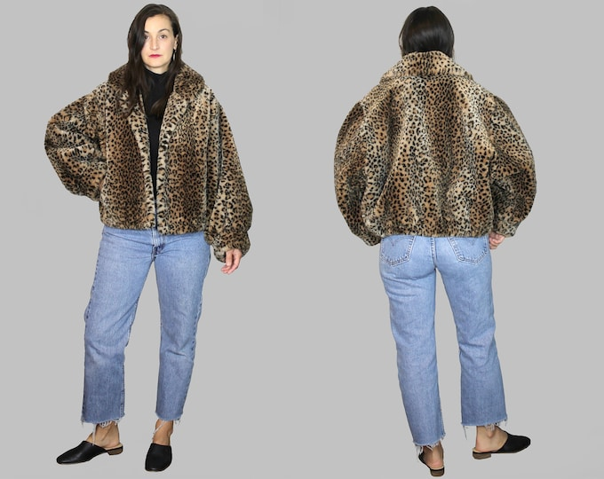 Faux Fur Coat Vintage
