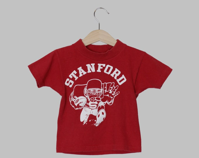 Stanford Football Toddler T Shirt 2T Vintage