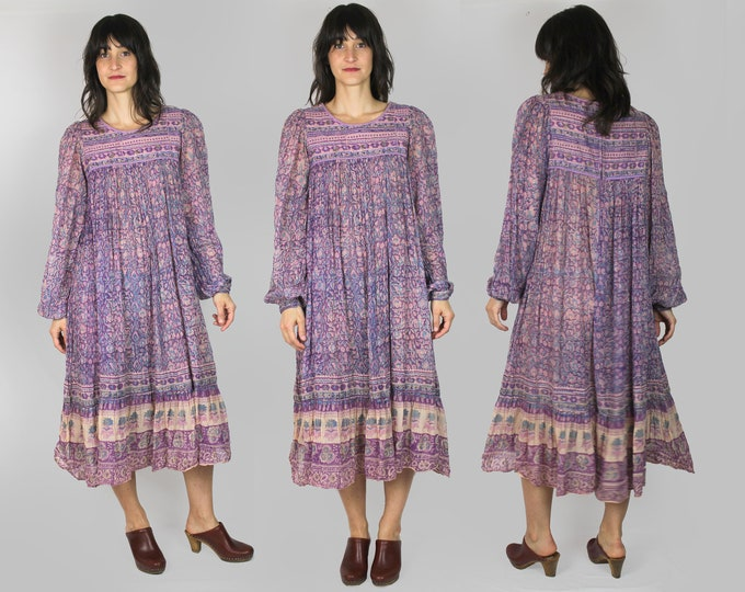 Indian Cotton Gauze Dress