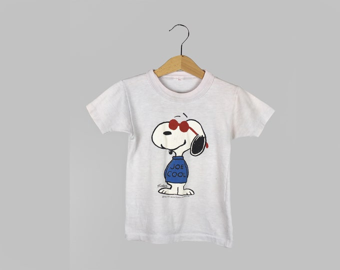 Snoopy Shirt Vintage 4T