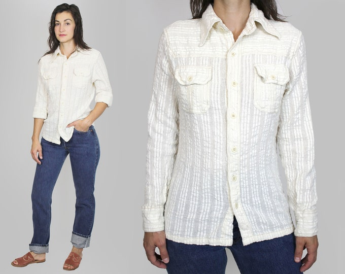 Indian Cotton Button Down