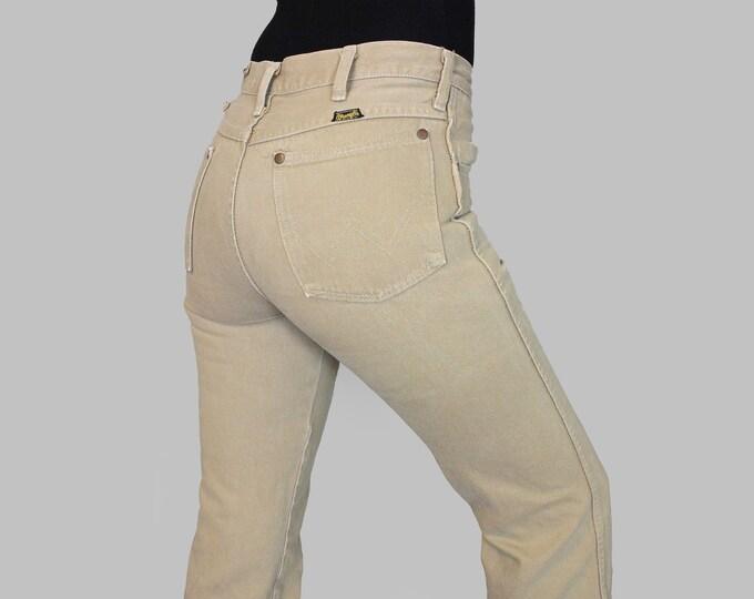 Camel Wrangler Jeans 28
