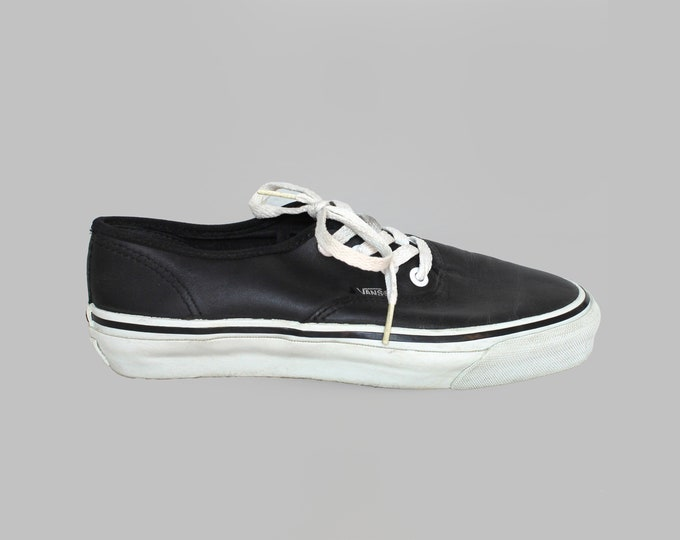 80s Vans Shoes 7.5 USA Made