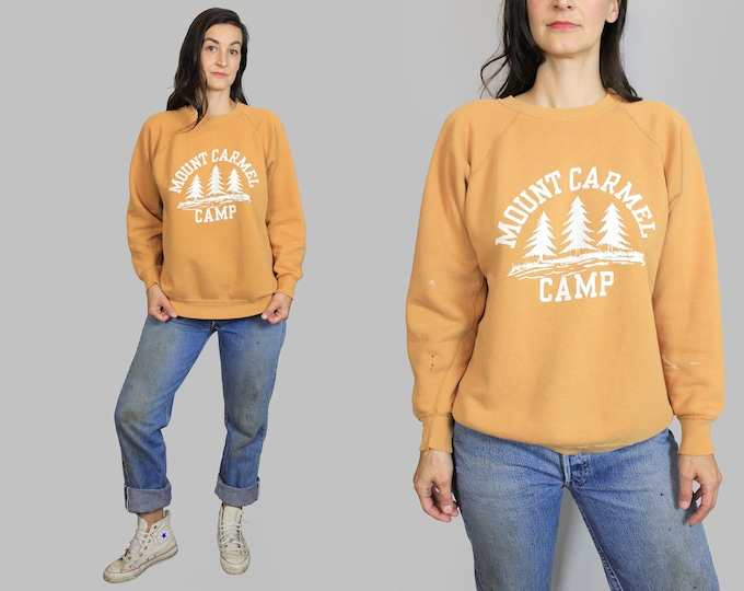 Camp Sweatshirt Vintage