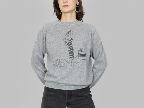 Sweatshirt Vintage Raglan Thin
