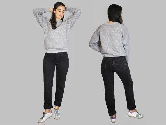 60s Grey Sweatshirt Vintage