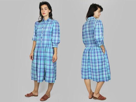 Plaid Dress Vintage