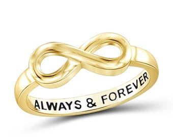 Forever Always Ring Etsy