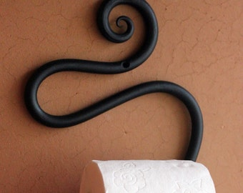 Toilet Paper Holder Hand-forged Wrought-Iron