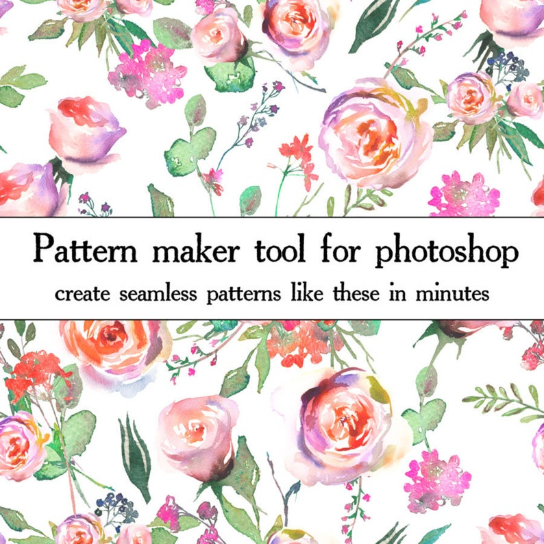 Pattern Maker Took for Photoshop - (Action) - Create 12x12