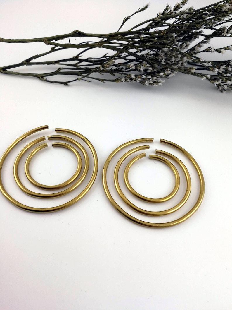 8g Hangers Brass Hoop Weights