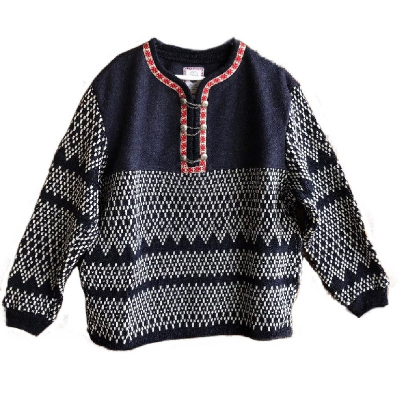Norwegian sweater men's XL size by SCORE of Norway image 0