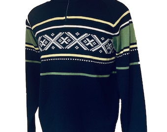 Dale of Norway, Norwegian wool sweater made in Norway. Size L