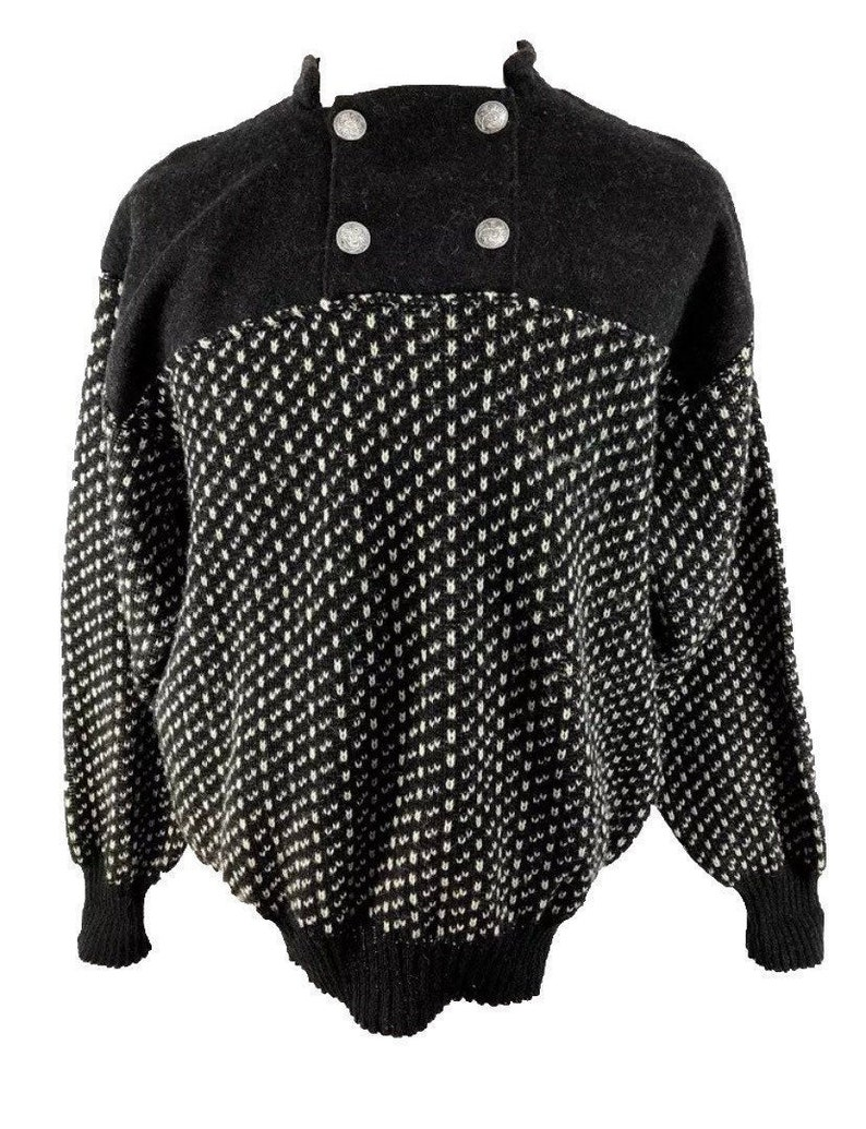Norwegian Norlaender sweater made in Norway-size image 0