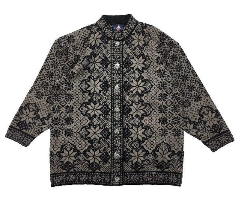 Skjaevelan of Norway wool Cardigan Sweater size Xl image 0