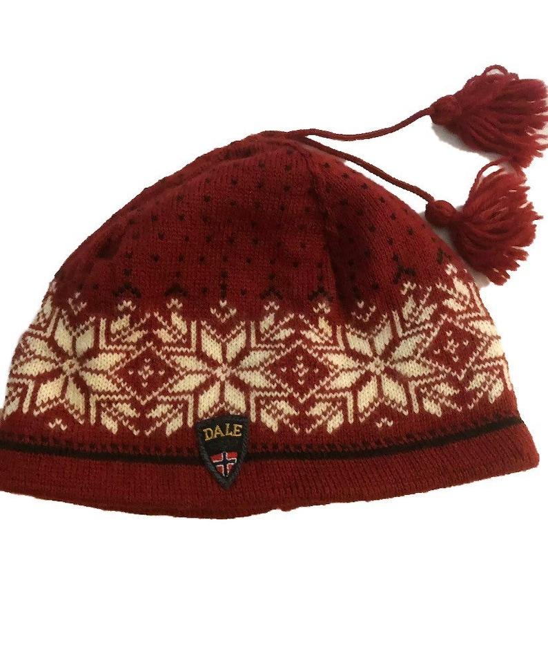Dale of Norway wool ski cap. Made in Norway image 0