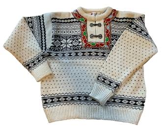 Beautiful Norwegian Sweater by Norwegian Design.