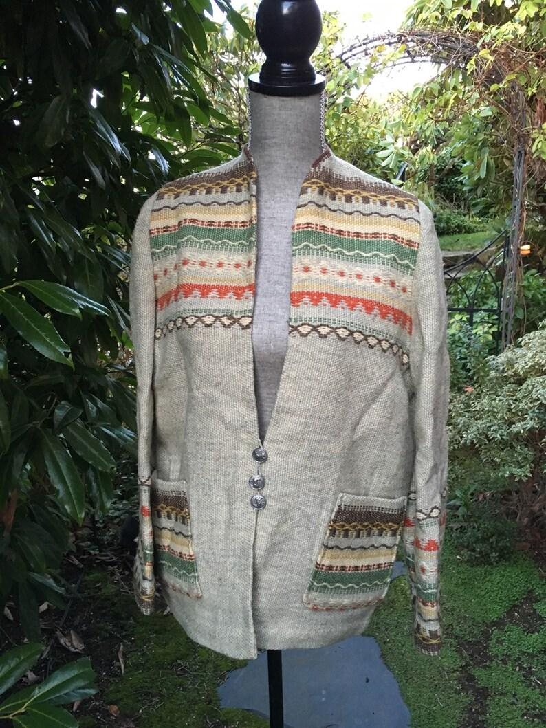 Handmade Gripstads Veverti Designer Norwegian Wool Jacket made image 0
